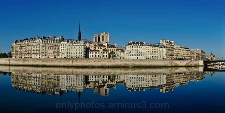 Reflexion sur la Seine