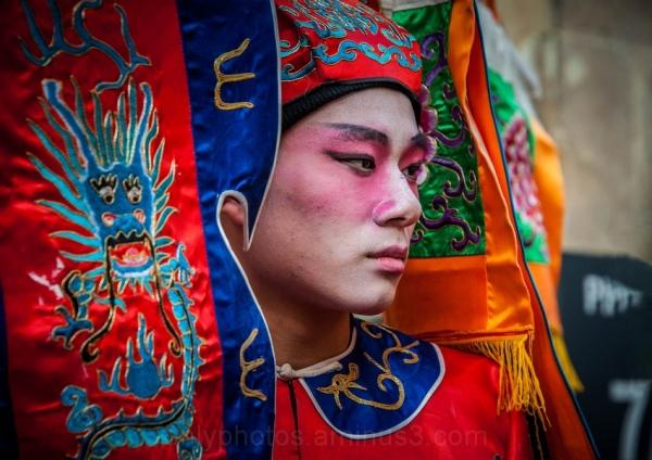 Nouvel an chinois. Portrait.