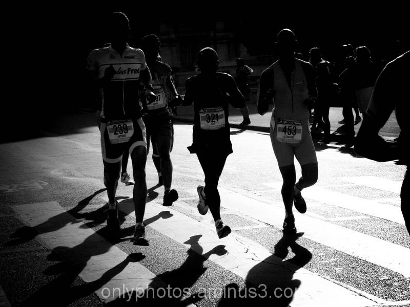 Marathon en contre-jours