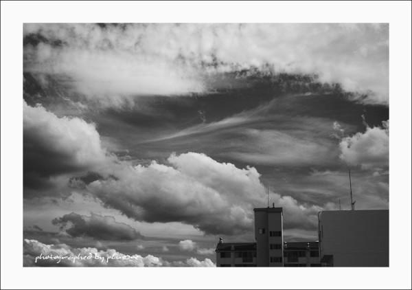 B/W Sky n Cloud