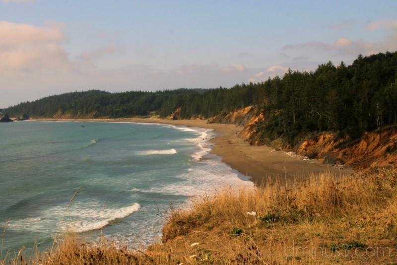 Sunswept Oregon Coast