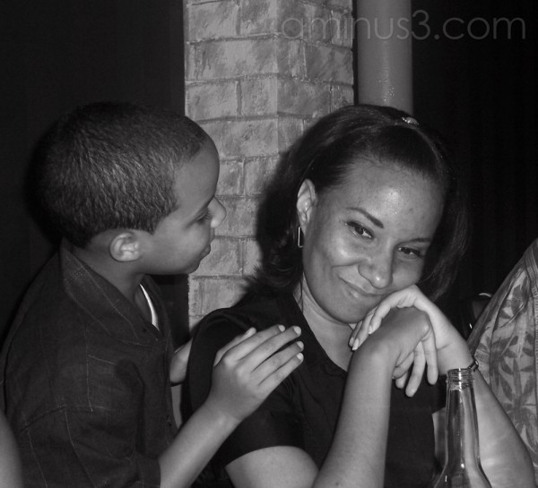 Mommy and Son Moment