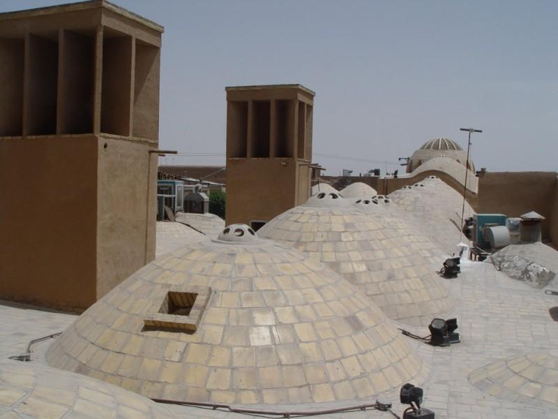 Yazd Urban Roofs