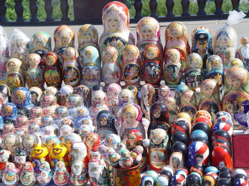 Russian Dolls in Moscow