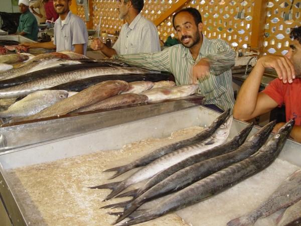 Fishmarket in Badar Abbas