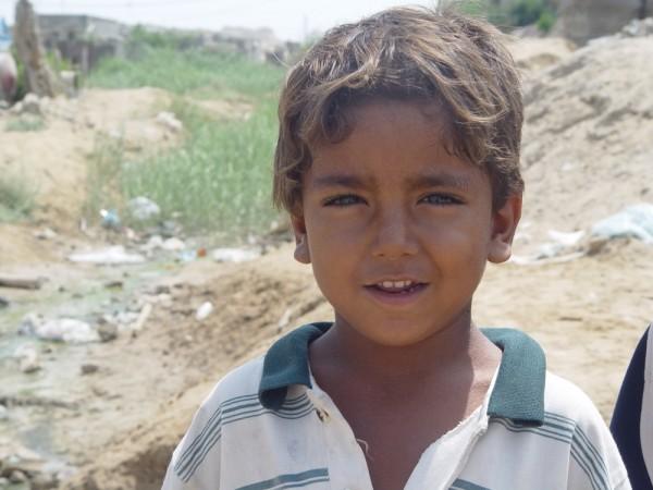 Suburb Boy in Bandar Abbas