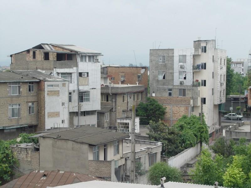 Cityscape in babolsar