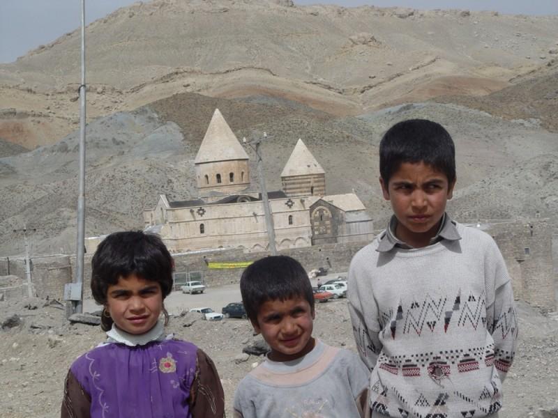 Children Near Gharah Klisa(Balck Church)