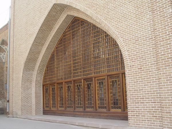 Windows in a Tabriz Mosque
