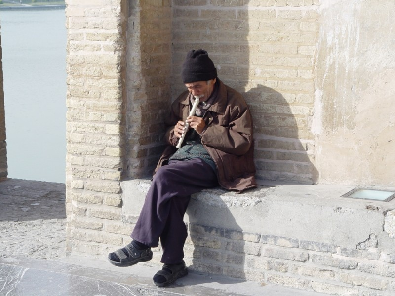 Playing Music in Esfahan