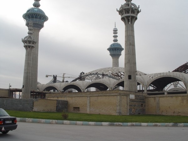 Takhte foulad cemetery