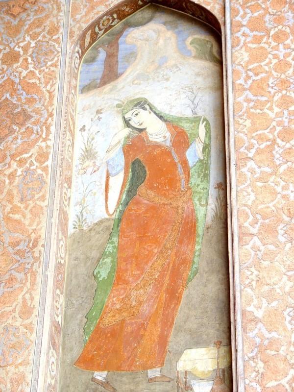 Wallpaintings in Esfahan