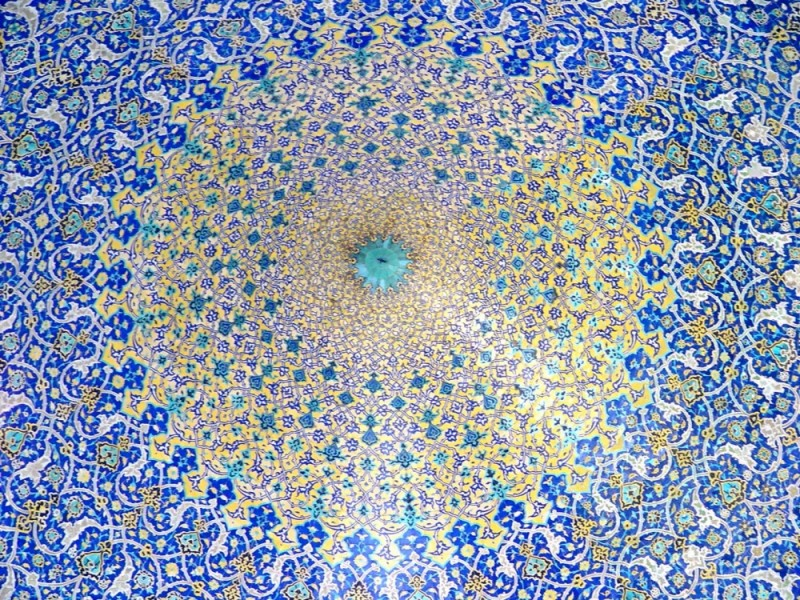 Masque Ceiling in Esfahan