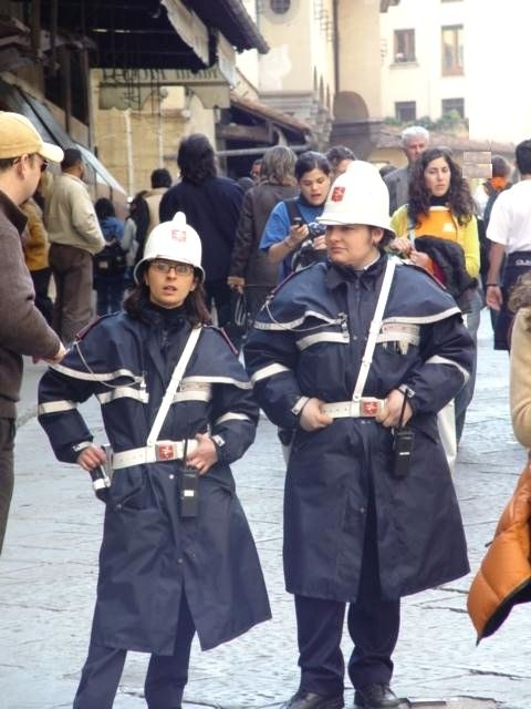 Police Women in Florence