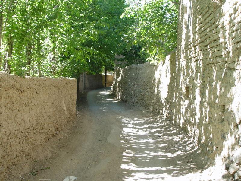 Anjavan village in Arak