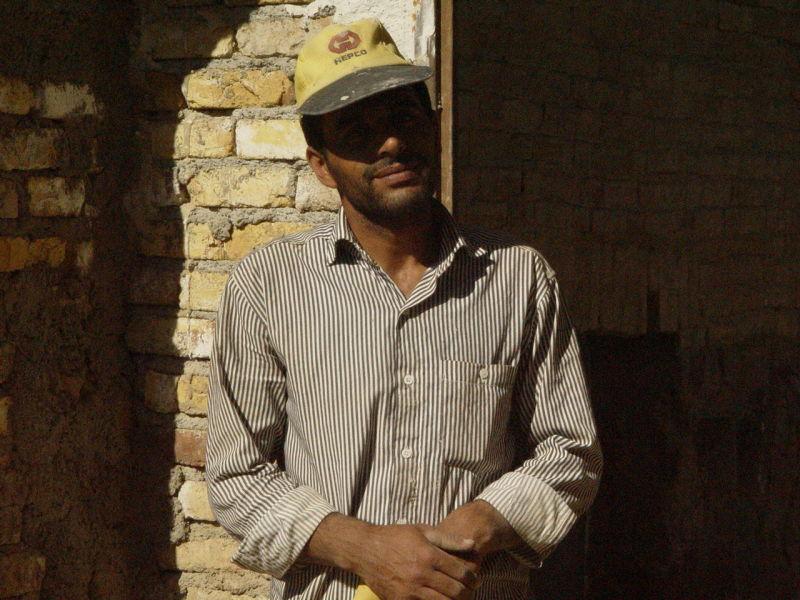 Young Worker in Anjavan