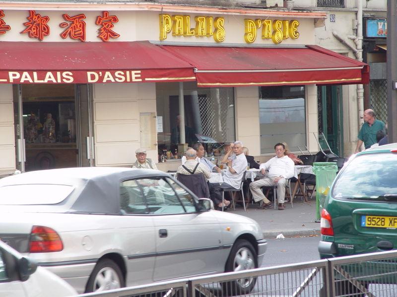 Chinatown in Paris