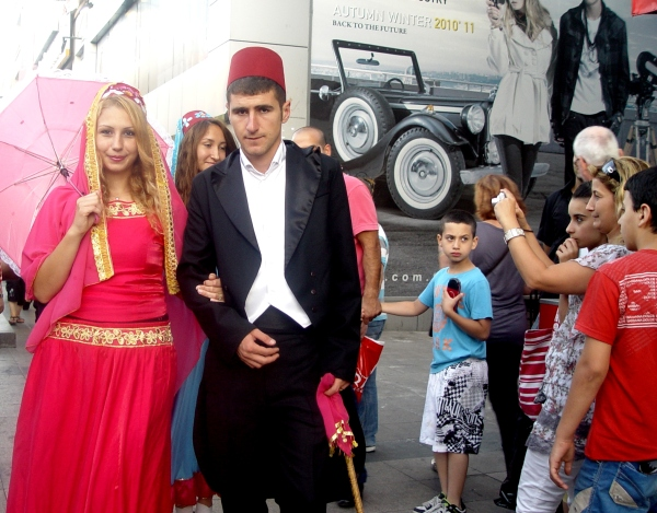 Street Actors for Ramadan in Istanbul old City