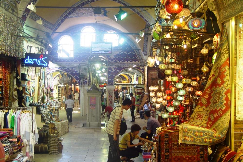 Bazaar of Old City in Istanbul