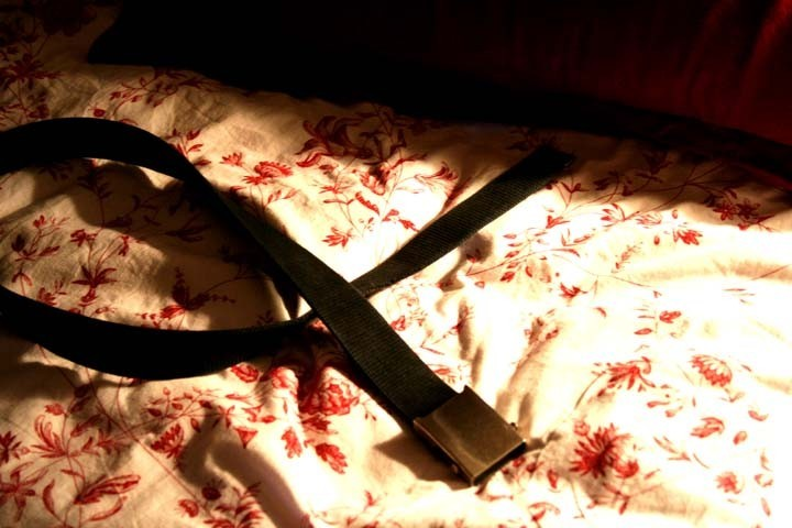 Belt on the Bed