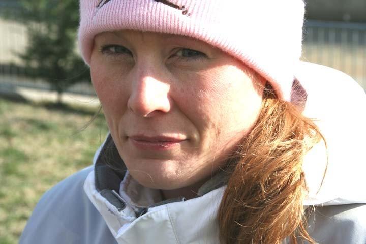 Lynette on Path, January 2008