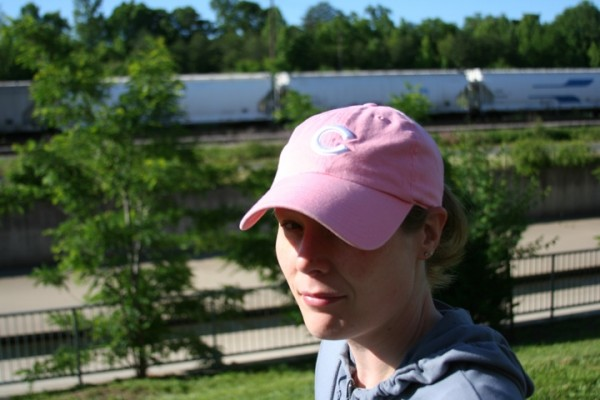 Pink Cubs Hat