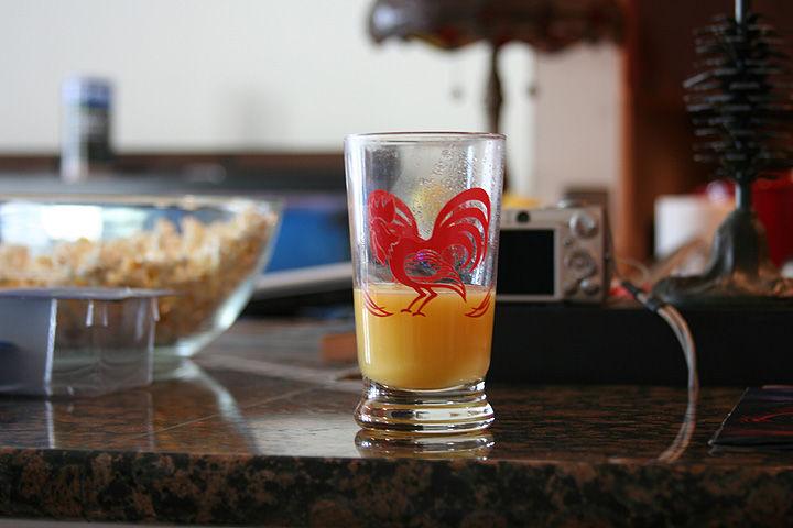 Orange Juice in the Morning