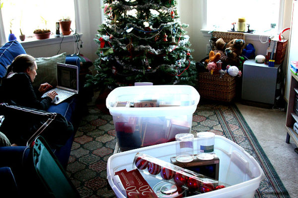 Cleaning Up Christmas
