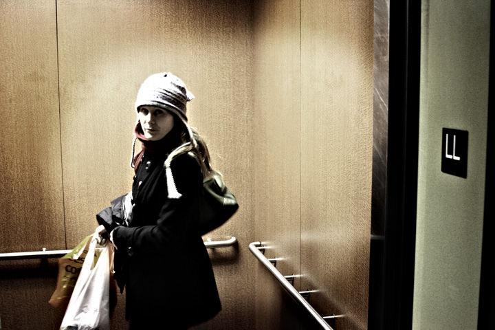 Lynette, Elevator, 2009