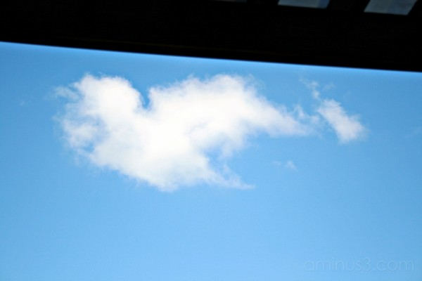 even the cloud's in love