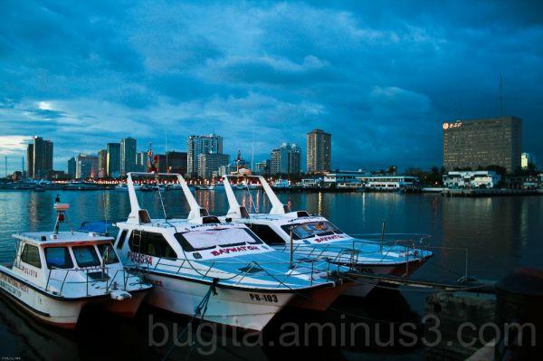 Docks at Manila Bay