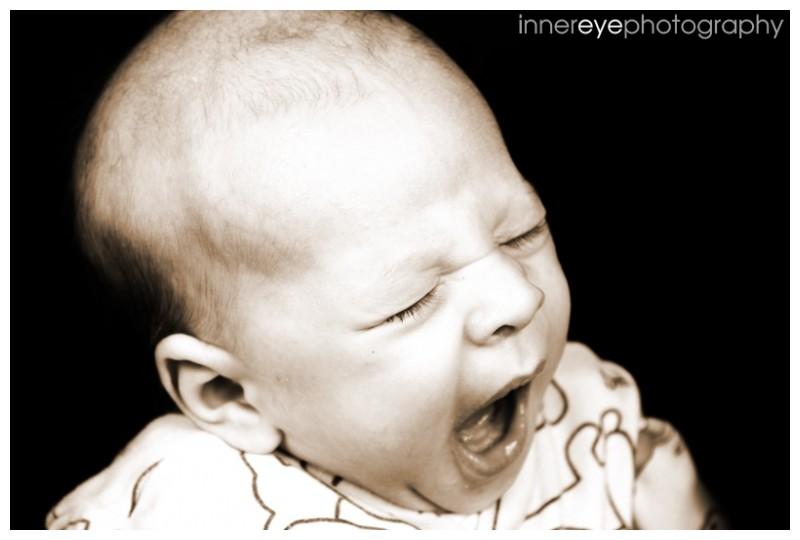 yawning baby ethan