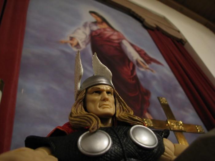 Thor vs. Jesus