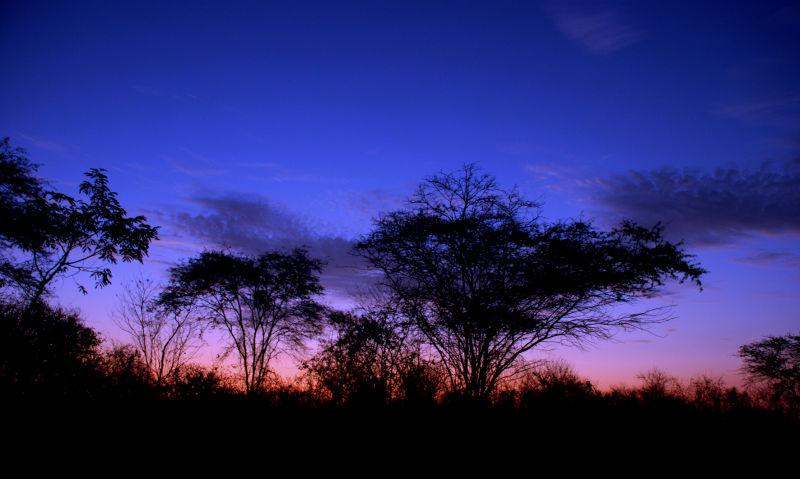 Sunset at San Lorenzo del Mate (Ecuador)