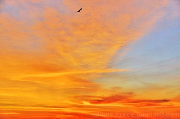 Sunset Sky from Ancón Ecuador