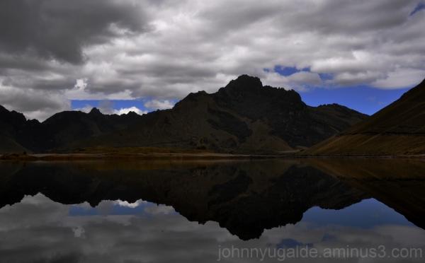 Laguna de Mojanda, espacio ritual
