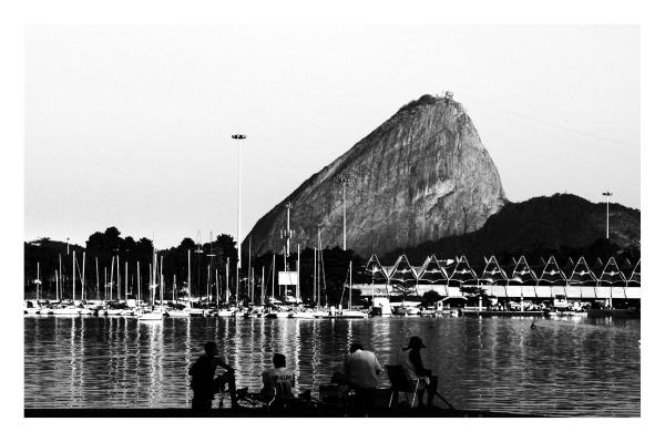 Atardecer de pesca en Río de Janeiro