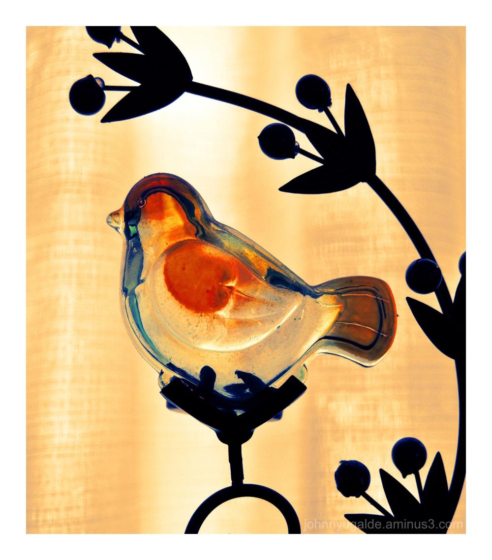 Cristal bird