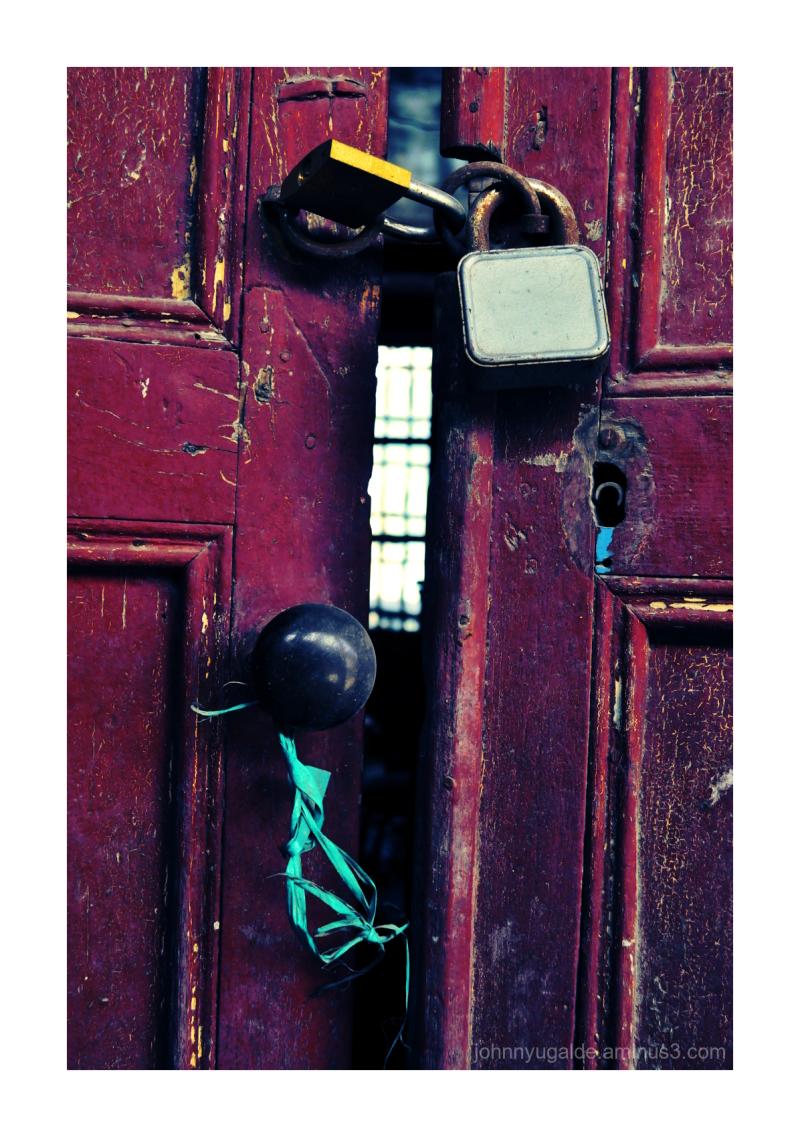 A secret behind the door