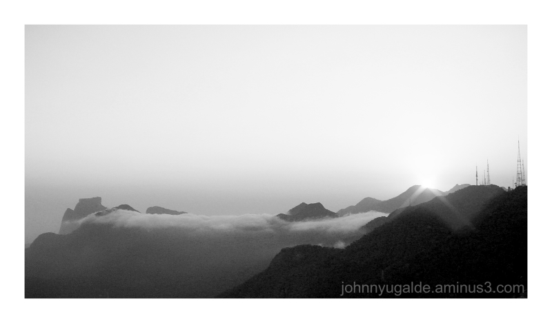 Perfil de los cerros de Tijuca
