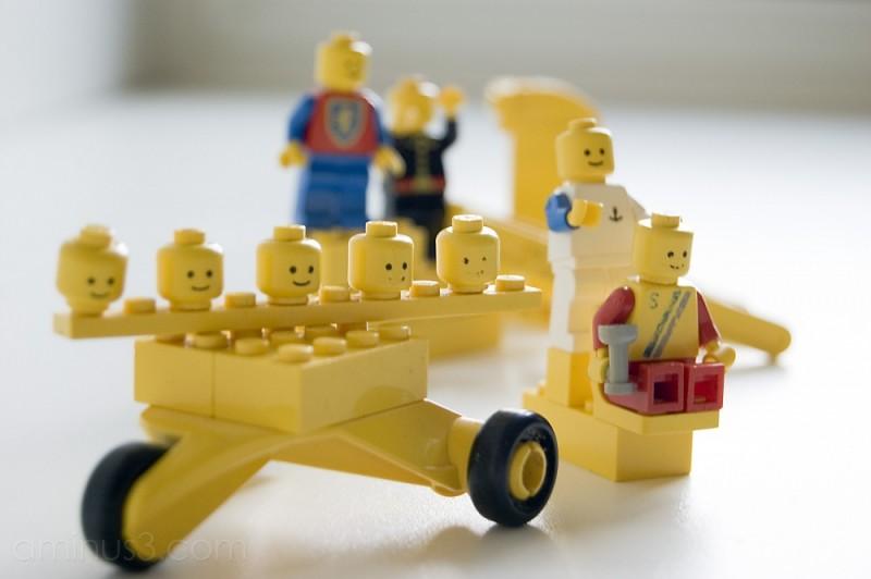 Legos ( yellow I )