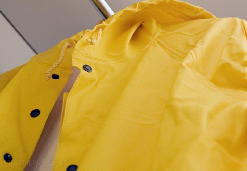 Raincoat ( yellow IV )