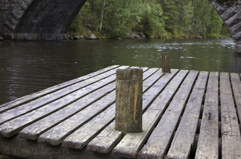 A Wooden Dock