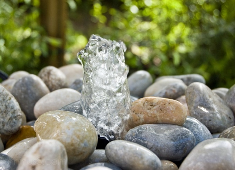 Rocks in a Tiny Fountain