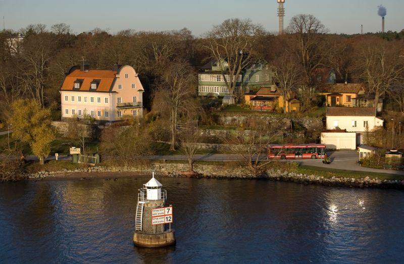 Suburban houses of Stockholm