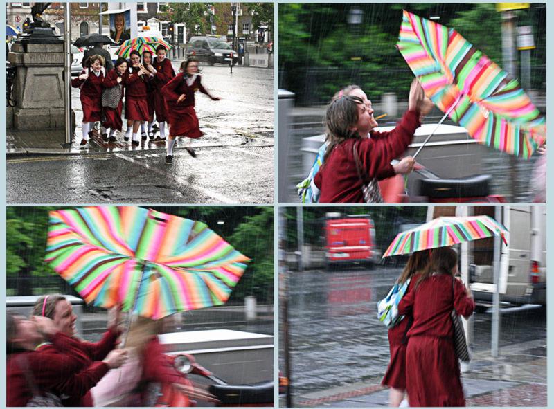 The misbehaving umbrella