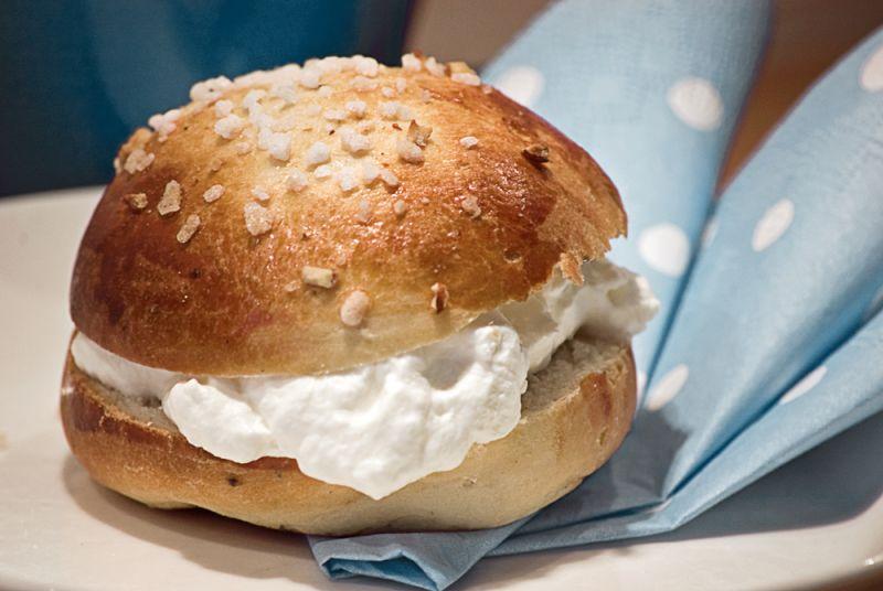 Special buns for Shrove Tuesday