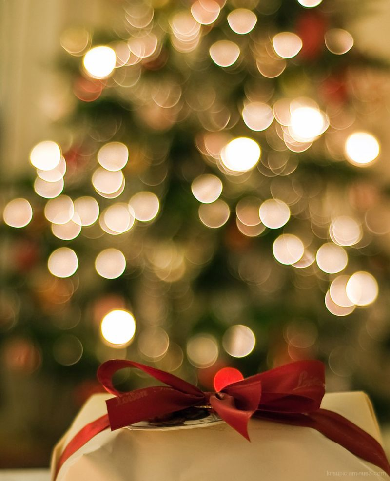 The Christmas Tree - bokeh