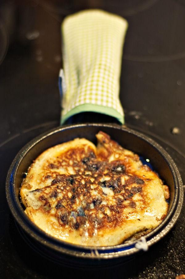 Blueberry pancake