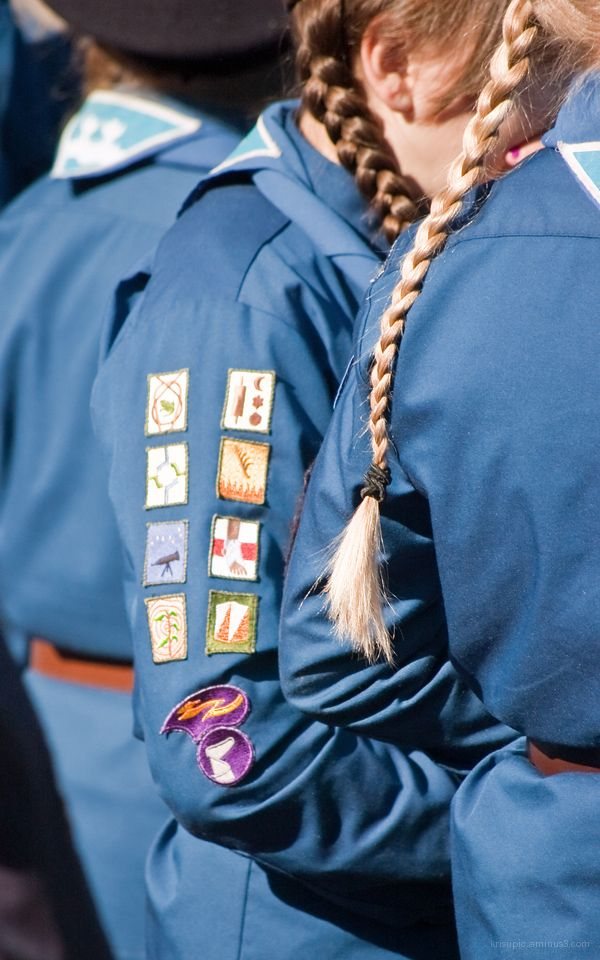 Badges and braids
